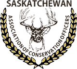 Saskatchewan Association of Conservation Officers Sticky Logo Retina